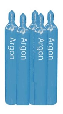 Bình khí argon tinh khiết cao