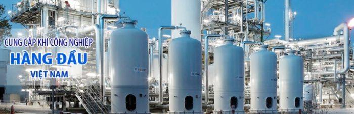 Cung cấp khí công nghiệp hàng đầu Việt Nam