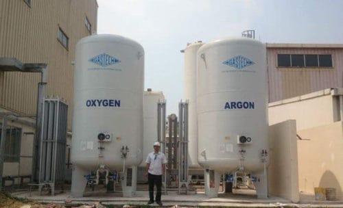 Bồn chứa khí lỏng Oxy, Nito, Argon