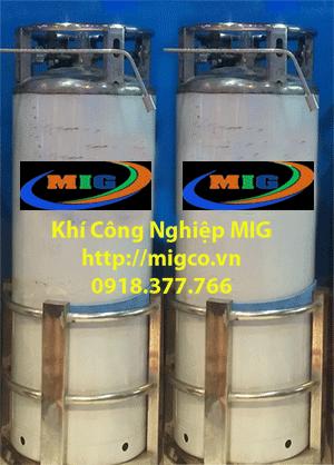Ứng dụng khí Nito lỏng để làm kem