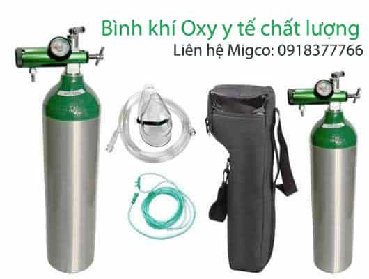 Mua bình oxy y tế ở đâu chất lượng?