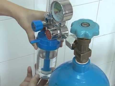 Sử dụng và bảo quản khí oxy thở tại nhà