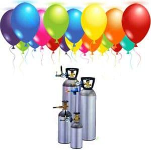 Bơm bong bóng bay bằng khí Helium