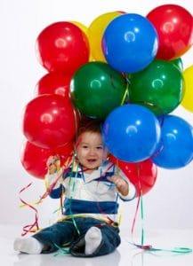 khí bơm bóng bay thích hợp cho trẻ chơi