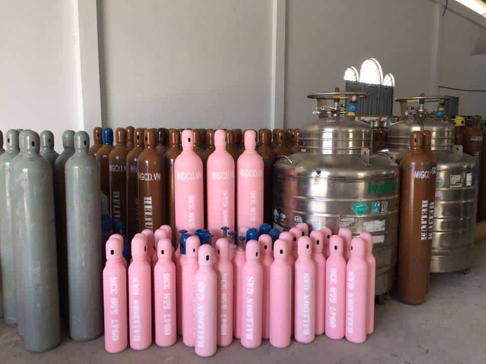 """Sản phẩm khí bơm bóng bay hỗn hợp từ khí Heli và Nitơ – """"BALLOON GAS"""""""