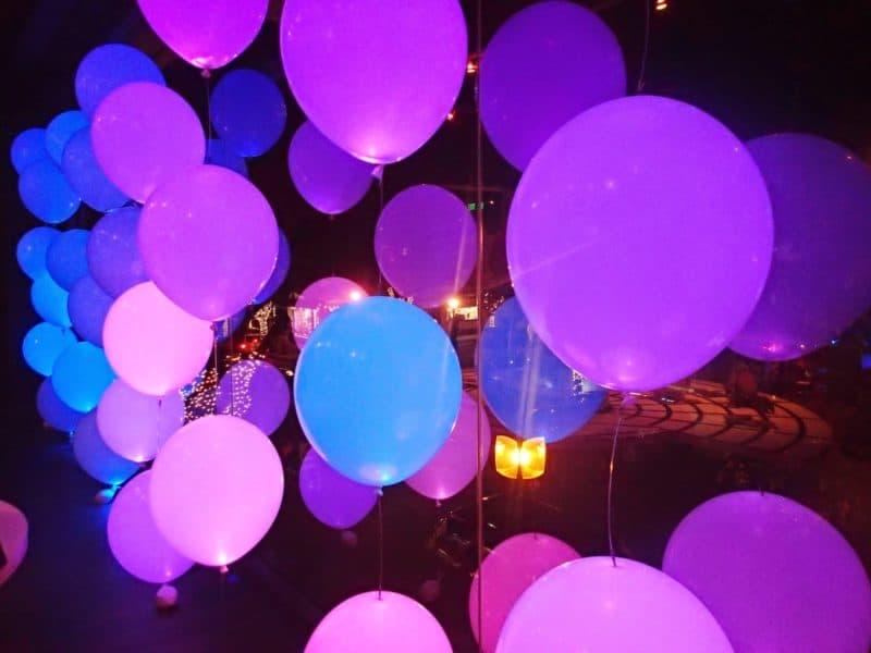 khí bơm bóng bay phát sáng bằng khí Helium