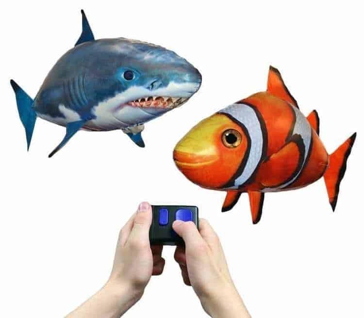 Cá bay điều khiển từ xa kích thích sự sáng tạo cho trẻ