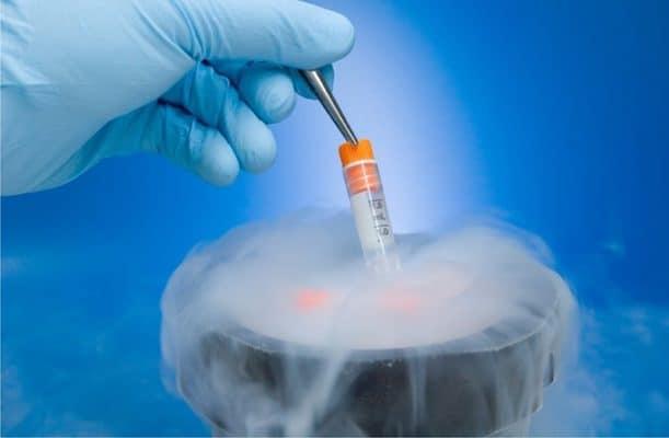 CF4 lỏng được sử dụng để bảo quản vật liệu di truyền