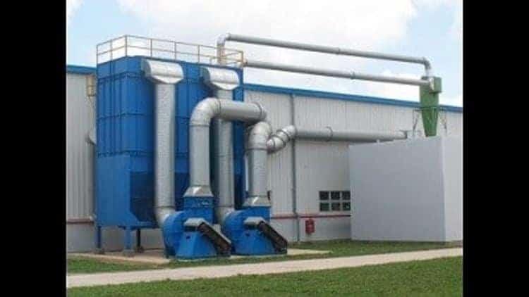 Hệ thống lọc không khí công nghiệp của nhà máy