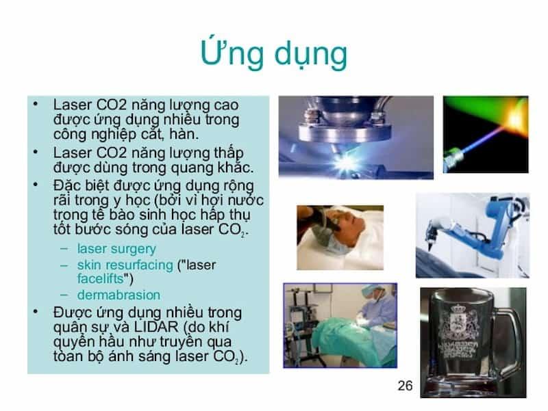 ứng dụng của laser co2
