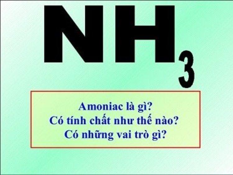 nh3 la gi?