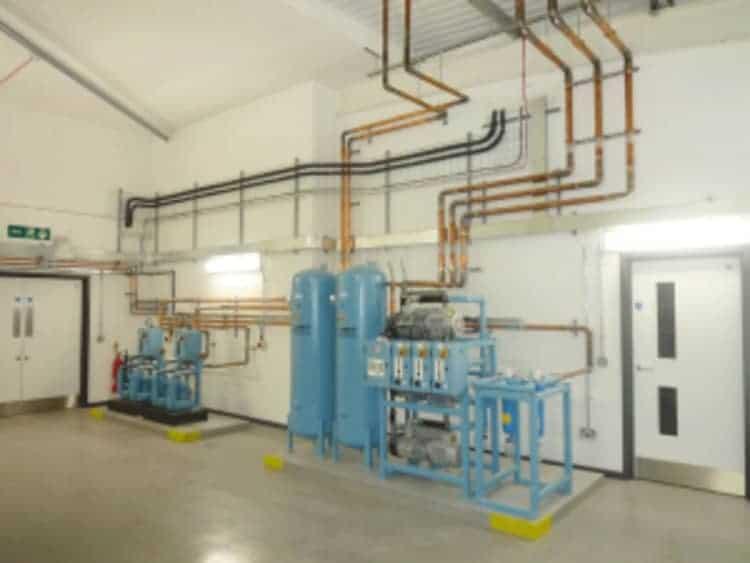 Hệ thống đường dẫn khí y tế