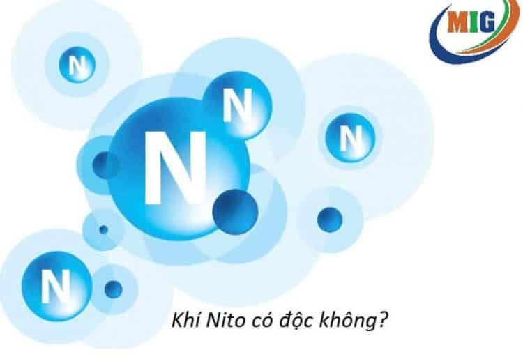 khí nito có độc không