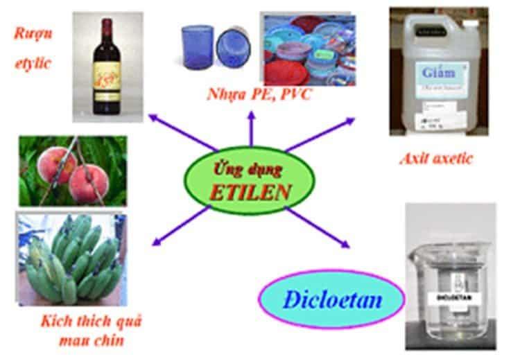 Ứng dụng của khí Ethylene