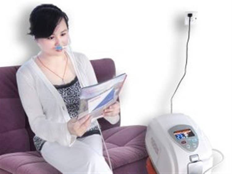 sử dụng khí oxy thở tại nhà