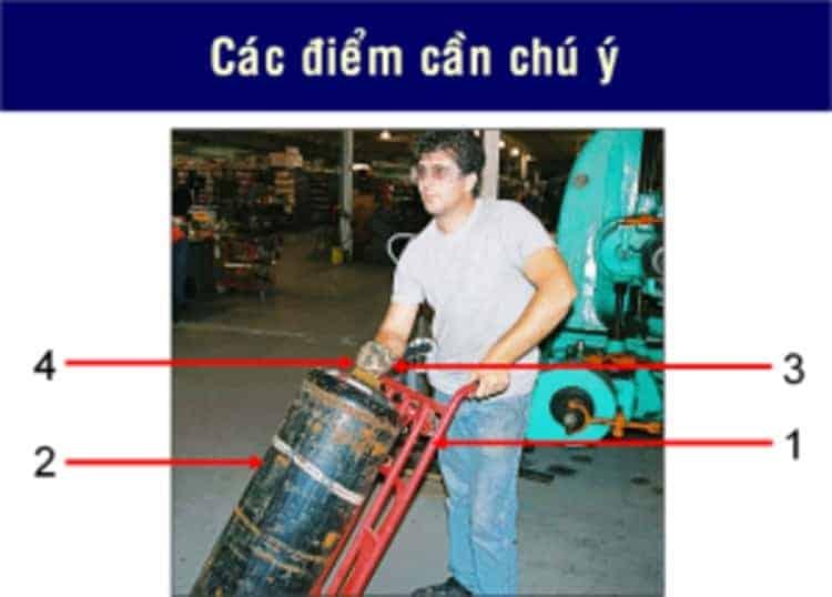 nguyên tắc di chuyển chai khí an toàn