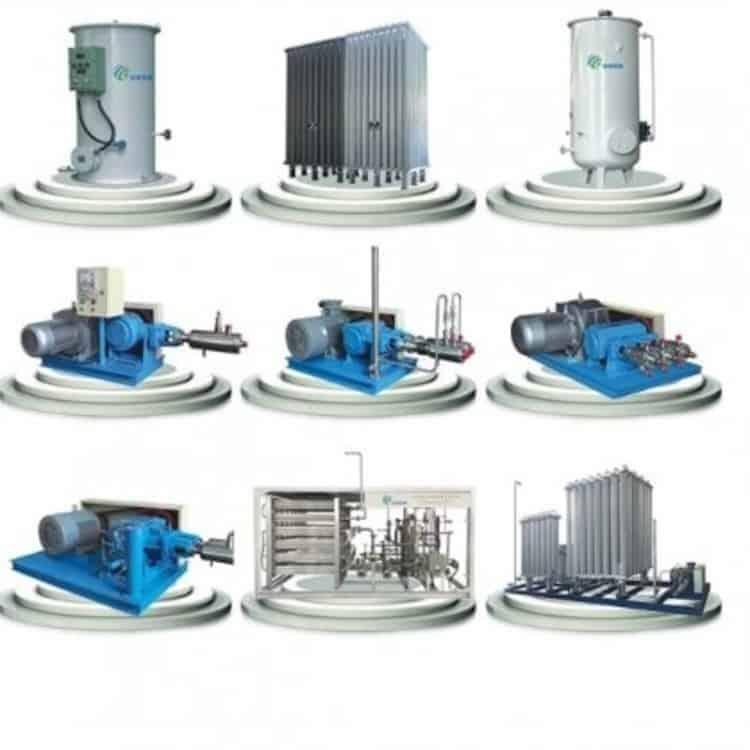 Máy Bơm khí hóa lỏng Oxy, Nito, Argon, CO2