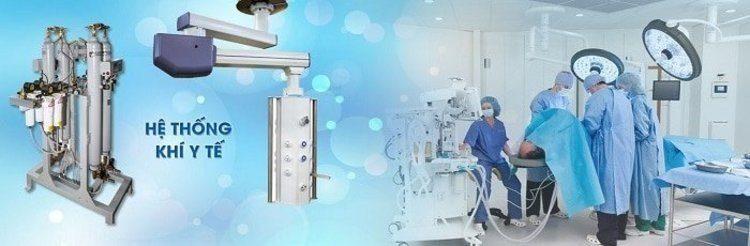 Hệ thống khí y tế trung tâm