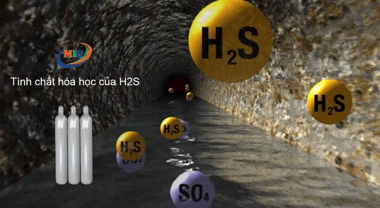 tính chất hóa học của h2s