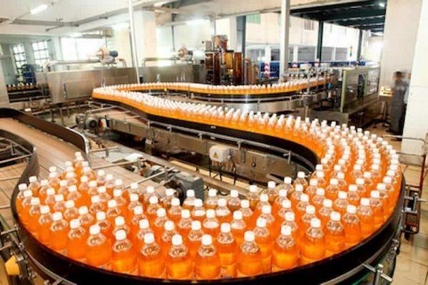 công nghệ sản xuất nước giải khát có gas