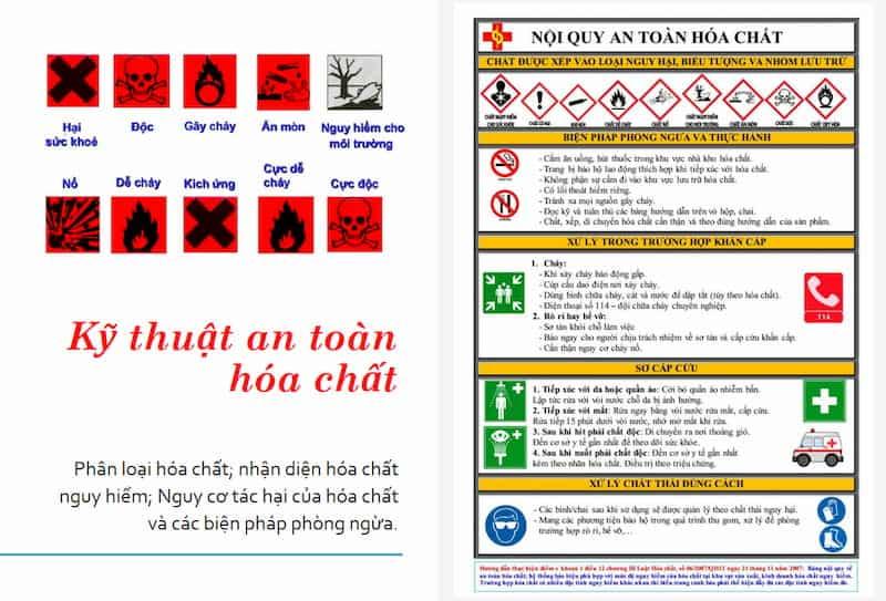 phiếu an toàn hóa chất msds