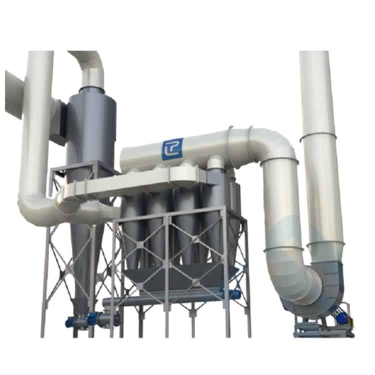 hệ thống lọc bụi công nghiệp Xyclon