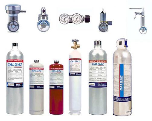 Bình khí chuẩn - Calibration gas cylinder
