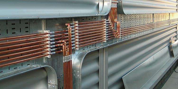 hệ thống ống đồng dẫn khí y tế